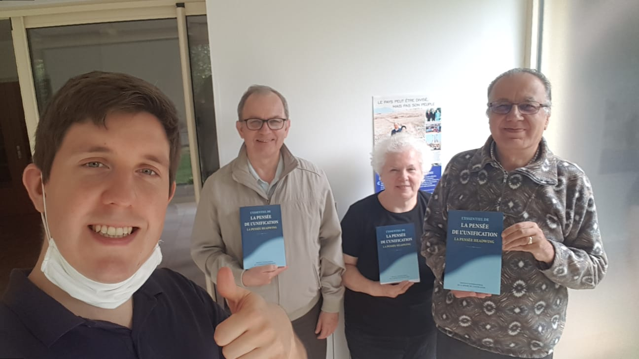 Publication of the French edition of Unification Thought, France
